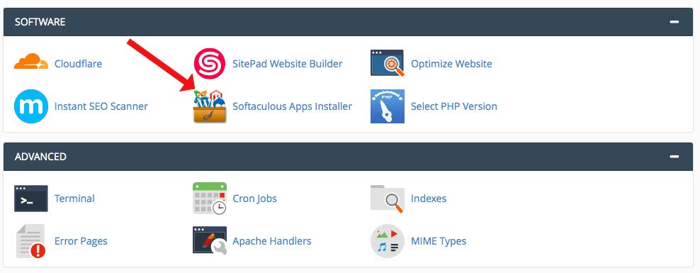 WordPress cPanel